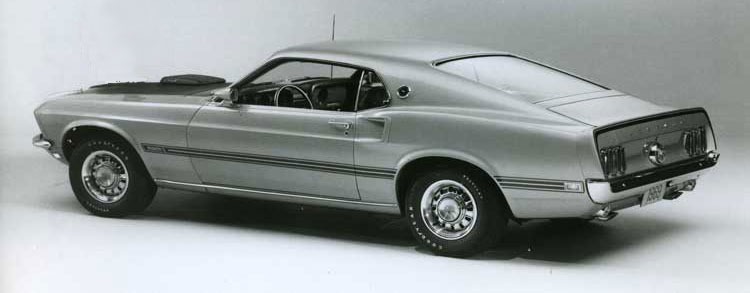 1969, 1970 Ford Mustang Mach One
