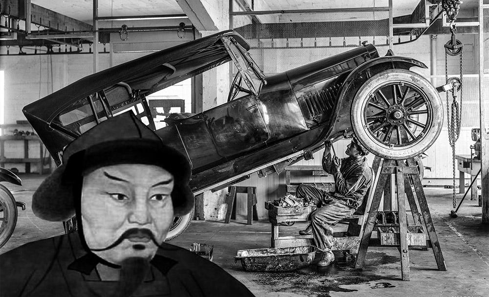 История тюнинга или богатый выезд