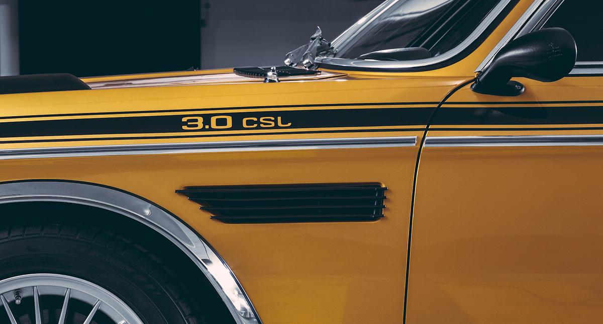 Винтажная очаровашка купе BMW csl 3.0 - БМВ 70-х годов
