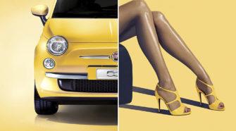 Женщина за рулем машины