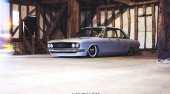 Прекрасная незнакомка - Audi 100Ls 1971