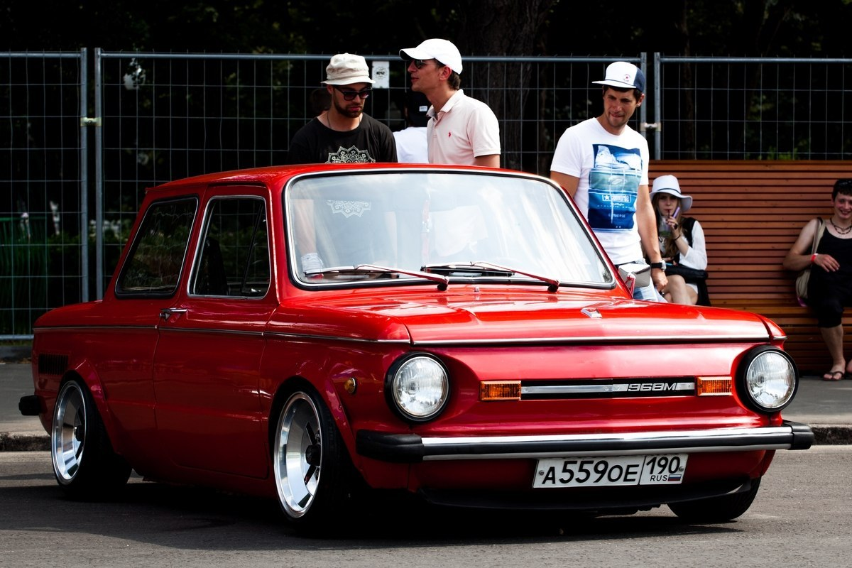 Stance автомобиль ЗАЗ-968М - тюнинг запорожец 968
