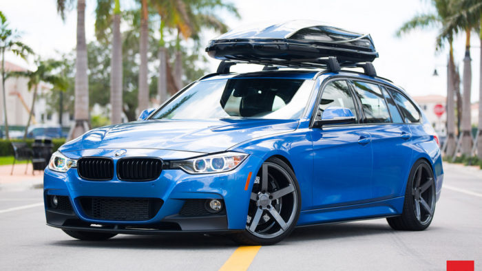 BMW 328i xDrive Touring With Vossen