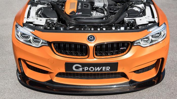 Проект BMW M4 от тюнеров компании G-Power