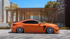 Vossen Wheels на Lexus RC-F