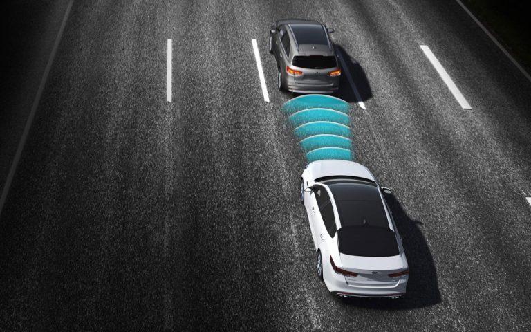 Система предупреждения о прямом столкновении на дороге