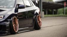 Ну разве не прелесть? Чумовая тачка Subaru STI 2014