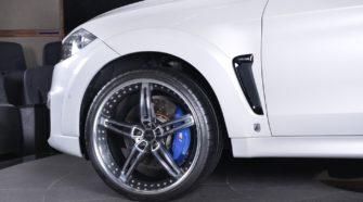 BMW X6 M в крутом обвесе и на дисках от AC Schnitzer