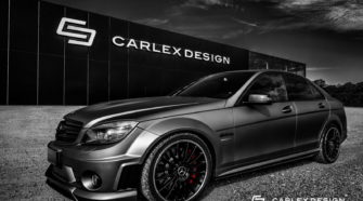 Carlex Design's Sinister-Looking Mercedes C63 AMG