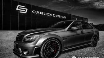 Carlex Design's Sinister-Looking Mercedes C63 AMG