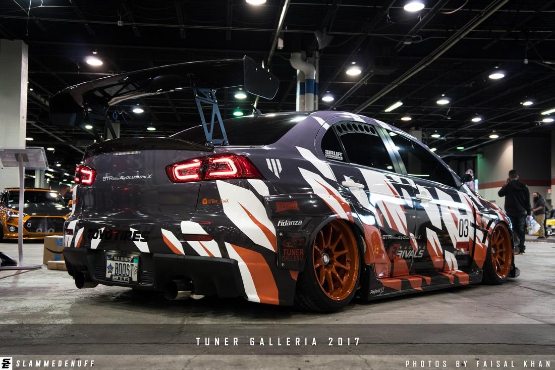Галерея тюнинга - TUNER GALLERIA 2017