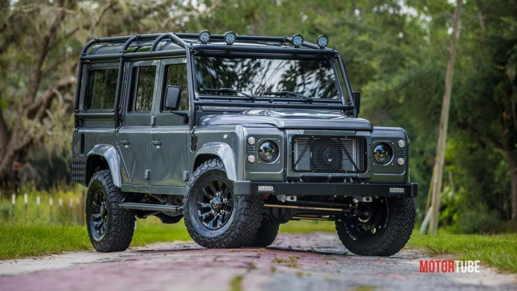 Land Rover Defender Project Kingsman