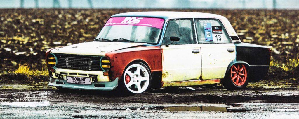 "Шустрая ""Копейка"" в 320 л.с ВАЗ 2101 1986 года"