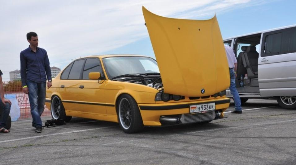 BMW 5 series 535 turbo Holset hx55