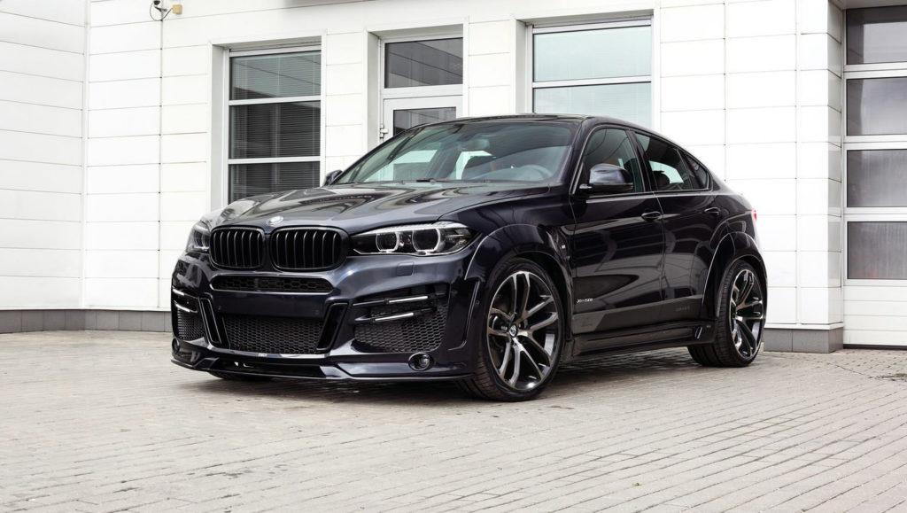 BMW X6 M Stance