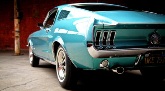 Ford Mustang 1968 GT-390 Fastback