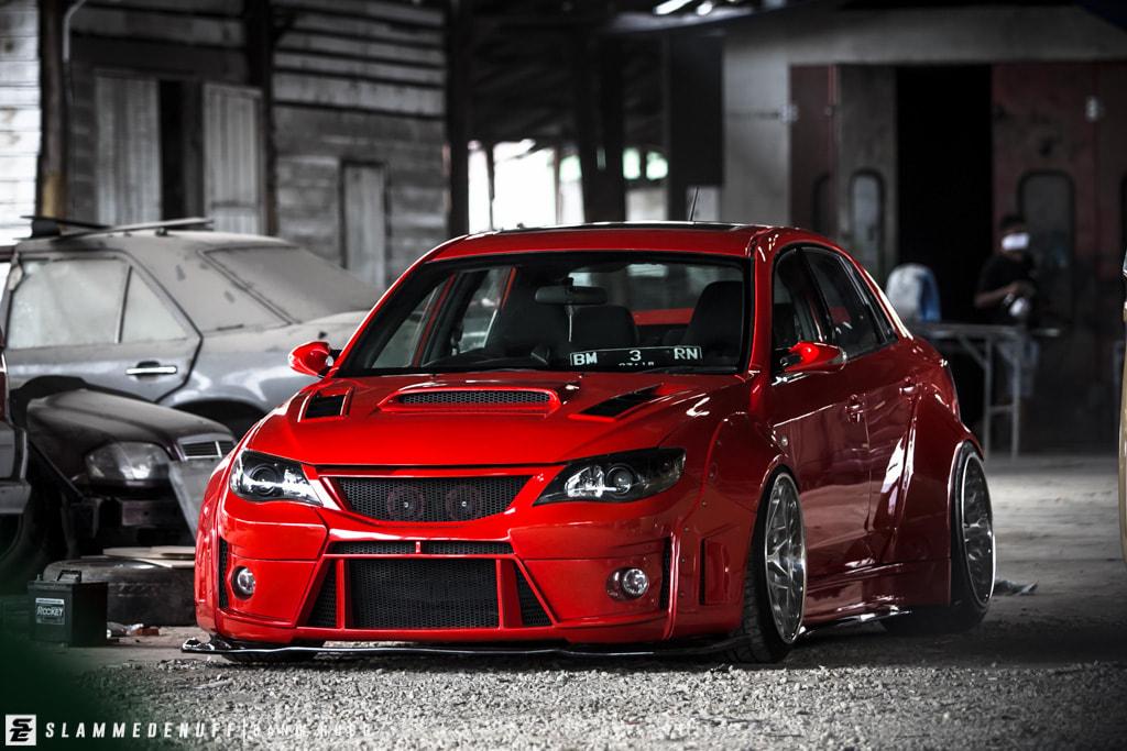 Full Rocket Bunny Subaru Impreza