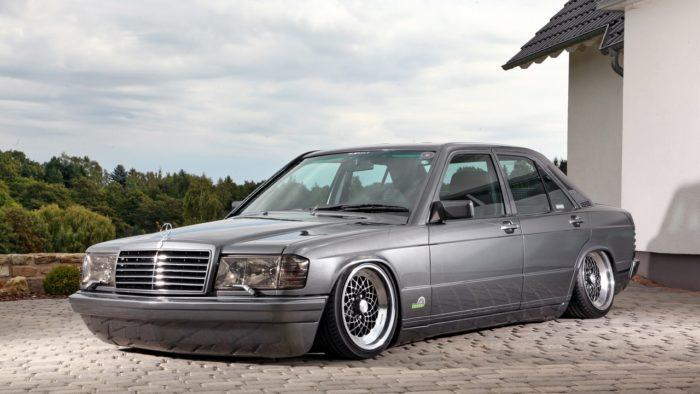 Mercedes-Benz W124 стенс проект