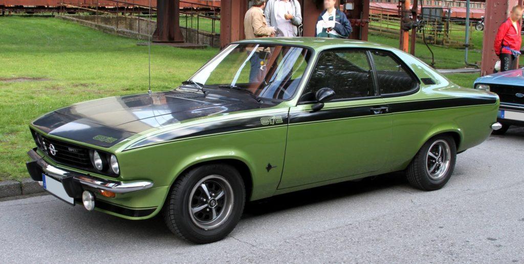 Opel Manta - легендарные модели