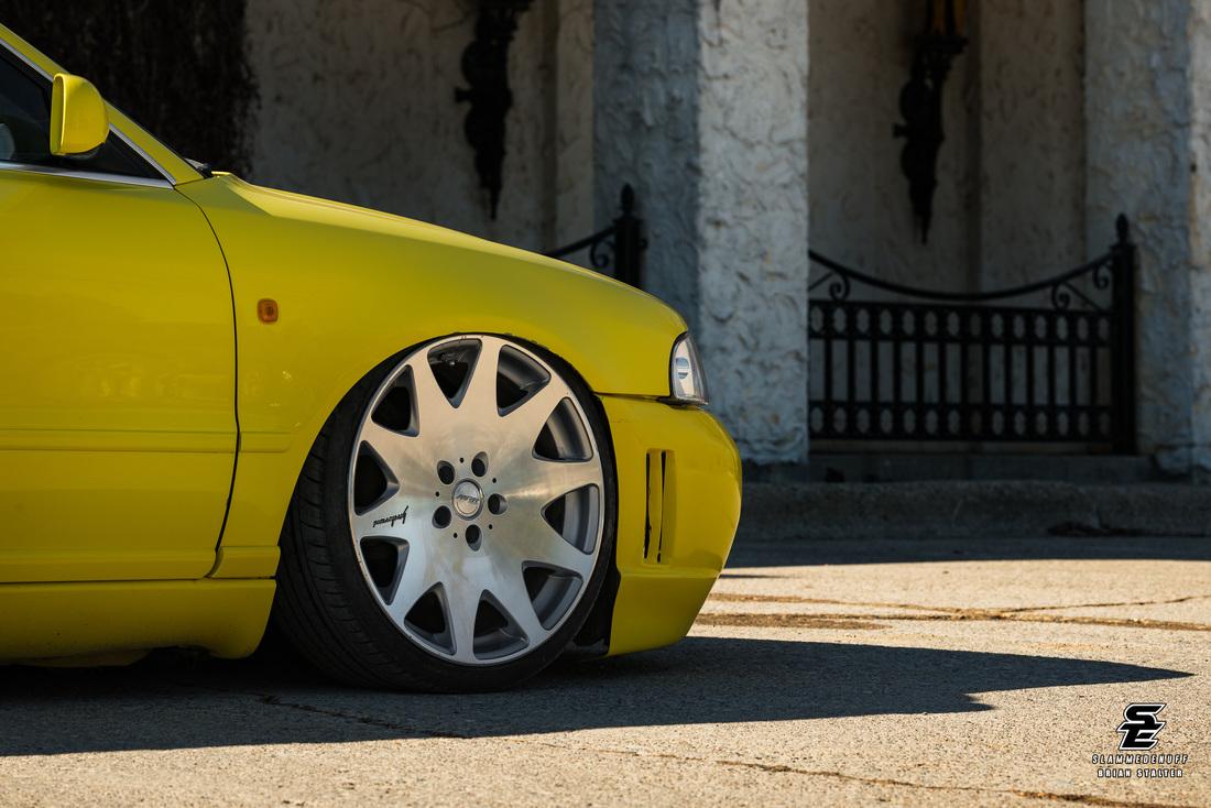 Stance проект Audi a4 avant 1998 года