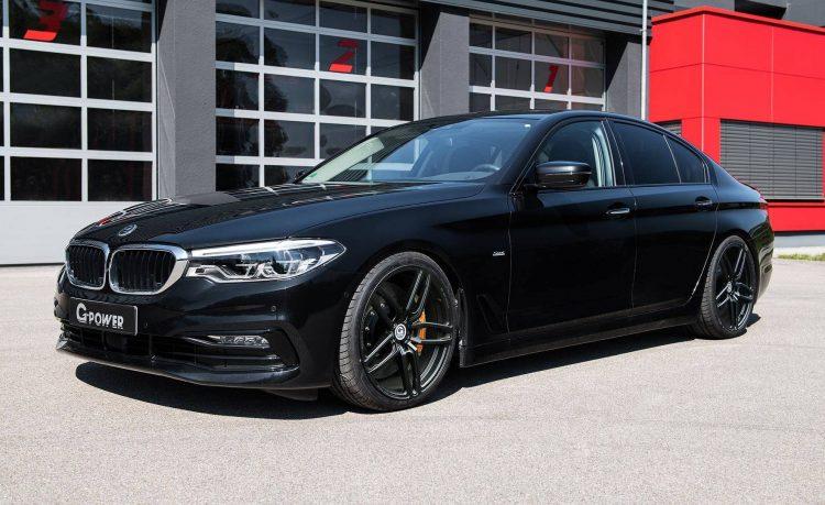 Тюнинг ателье G-Power «прокачало» BMW 5-Series