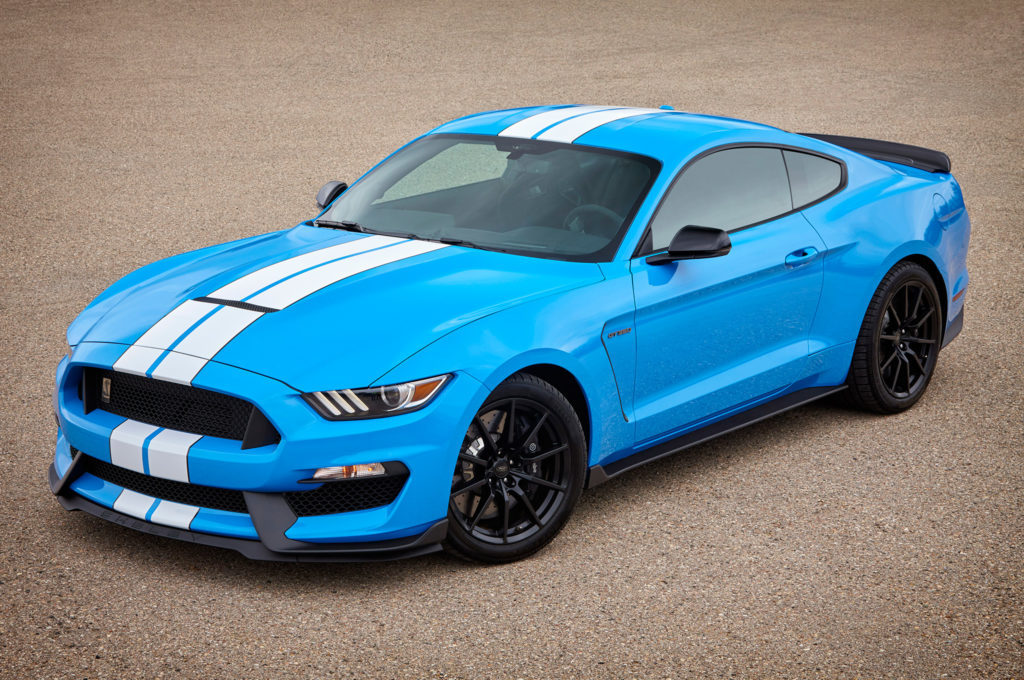 bright blue ford 2017