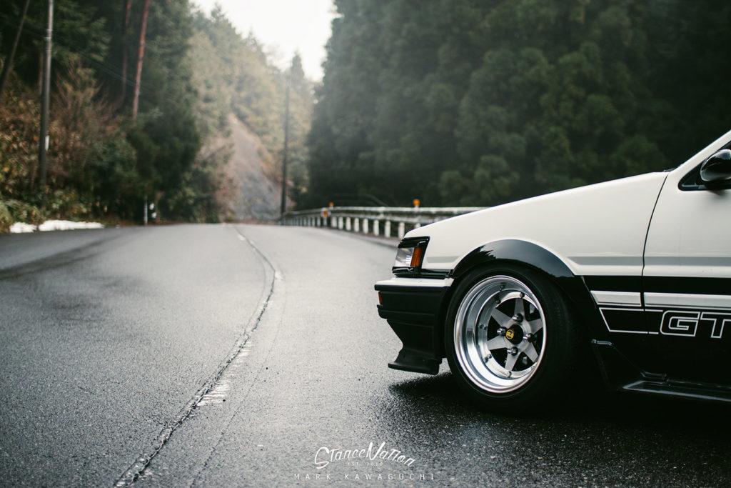 Мечта и легенда дрифта - Toyota ae86