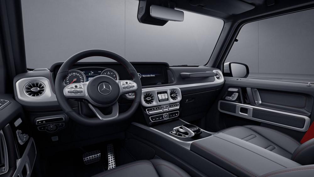 Mercedes представил «заряженную» версию нового «Гелика» G63