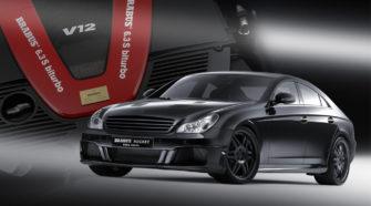 Немного роsкоши - Mercedes Brabus CLS v12 S Rocket 1