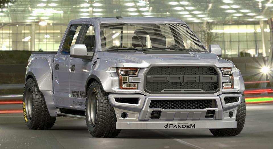Pandem \ Rocket Bunny - Самый низкий Ford Raptor 2017