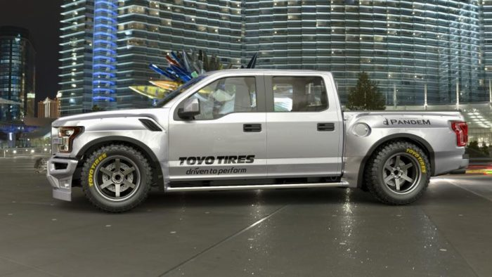 Pandem Ford Raptor rocket bunny