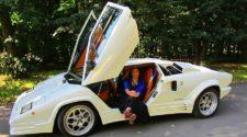 Русская версия Lamborghini Countach довольно высокого качества