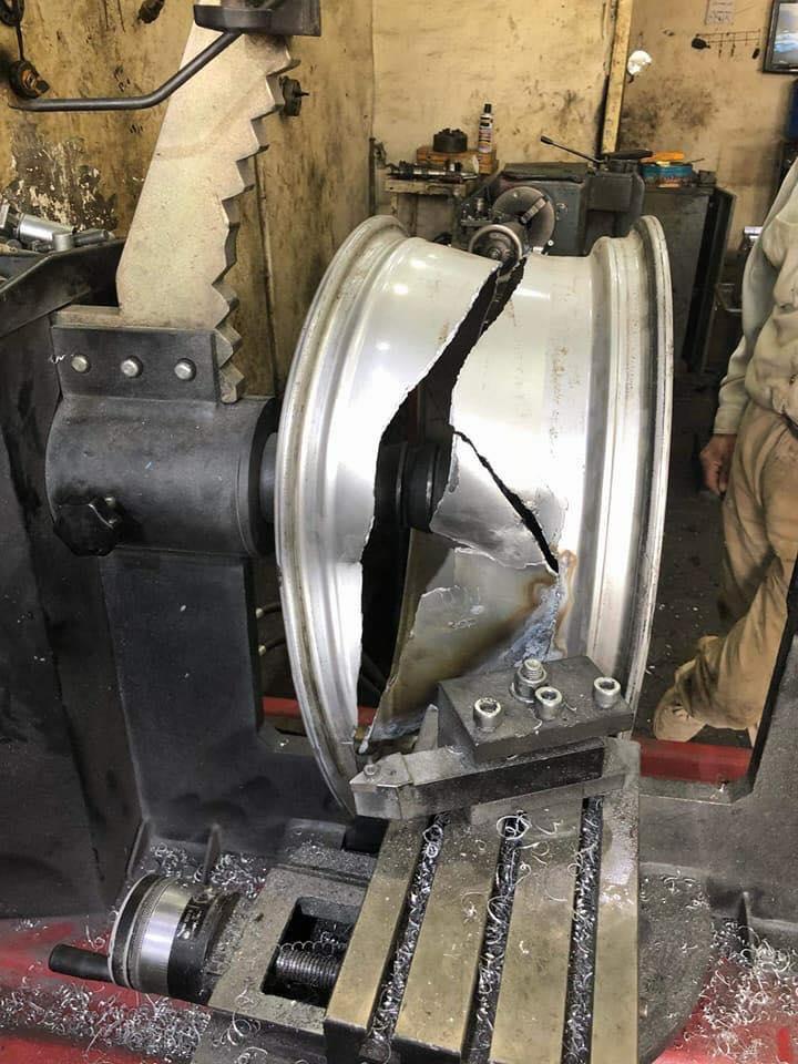 Как литые диски бывшего употребления готовят к продаже