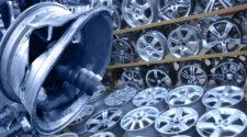 Как литые диски бывшего употребления готовят к продаже - фото