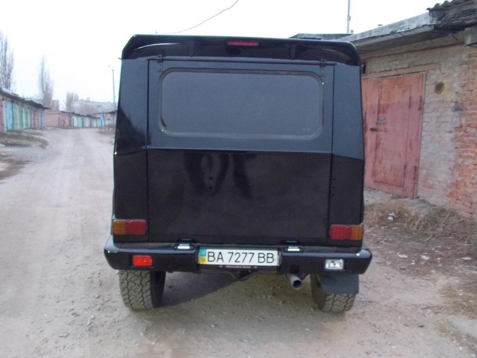 Как превратил внедорожник УАЗ-31514 в Гелендваген