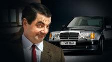 Мистер Бин продает легендарный Mercedes-Benz 500 E