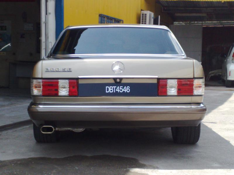Почему не ехал мой старенький Mercedes-Benz W126 300 SE