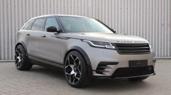 Тюнеры из Lumma Design показали спортивный Range Rover Velar