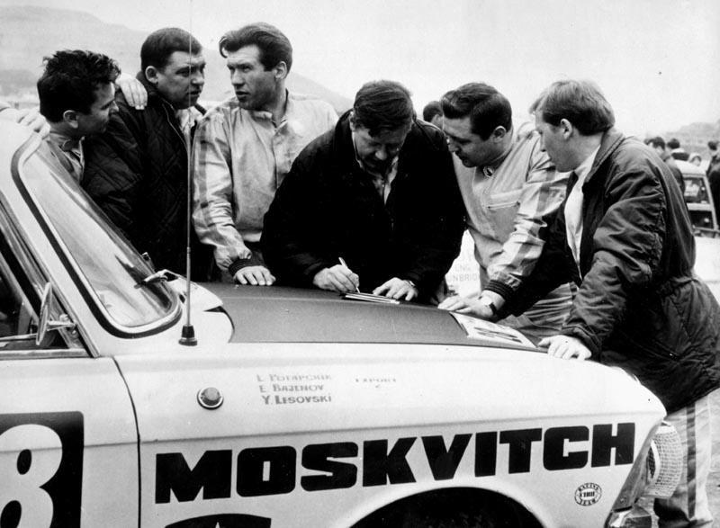 Возвращениераллийного Москвича - Дайджест истории