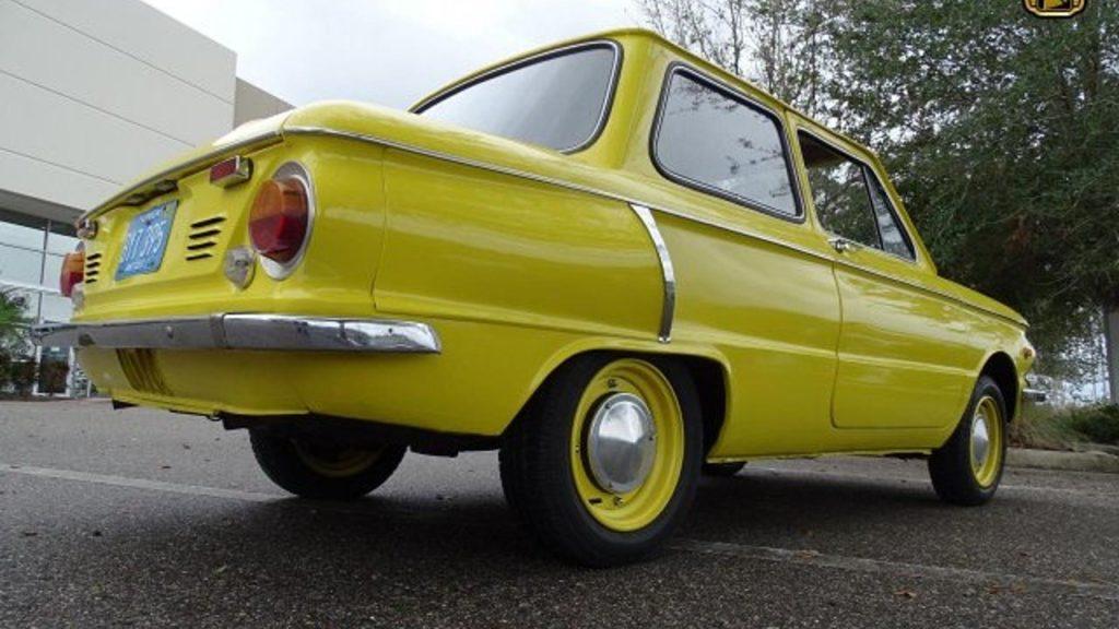 Запорожец ЗАЗ-968 выставили на продажу за 787 тысяч рублей
