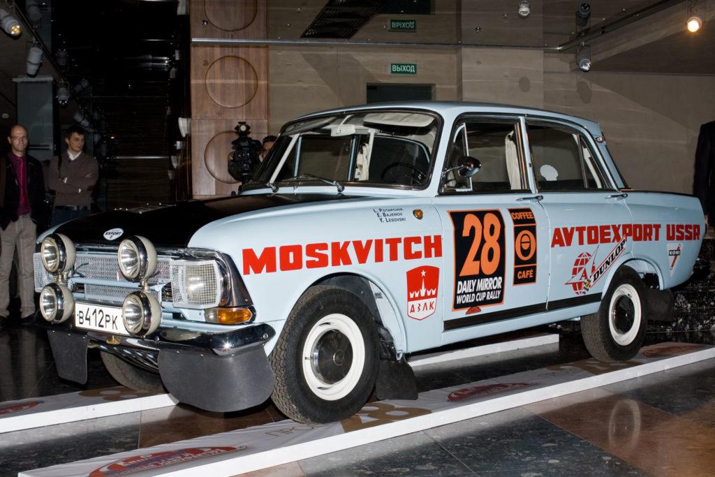 Заводской тюнинг автомобиля Москвич - тюнинговый москвич