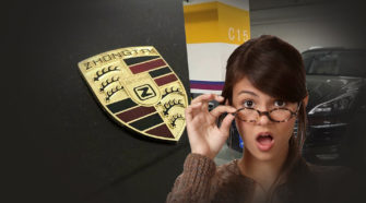 Zotye Porsche Macan китайский порш