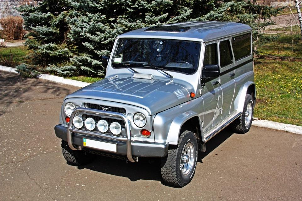 Как скрестит УАЗ-3153 с Nissan Patrol..