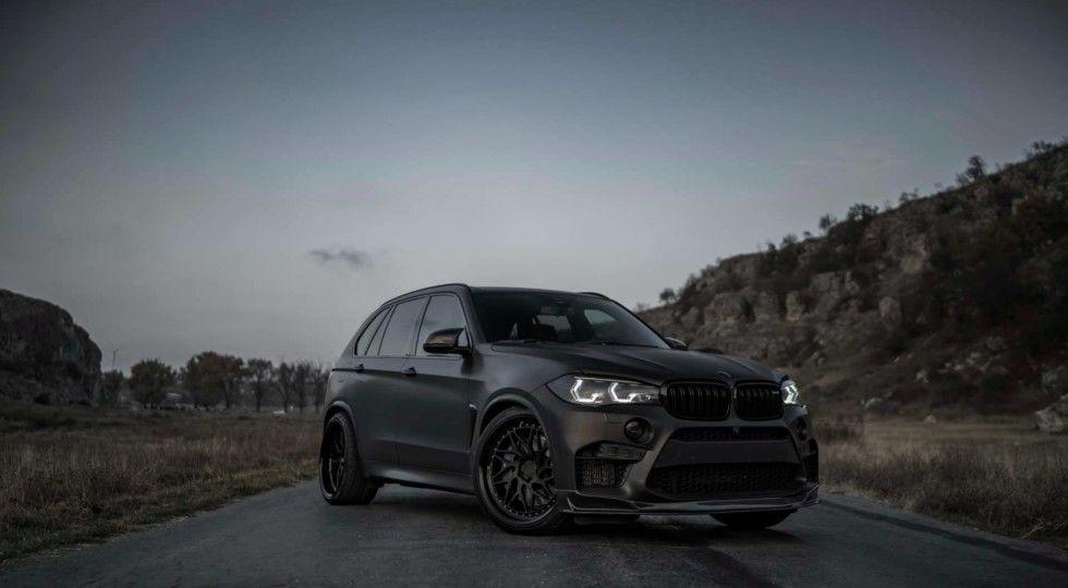 Компания Z-Performance представили матовую версию BMW X5 M