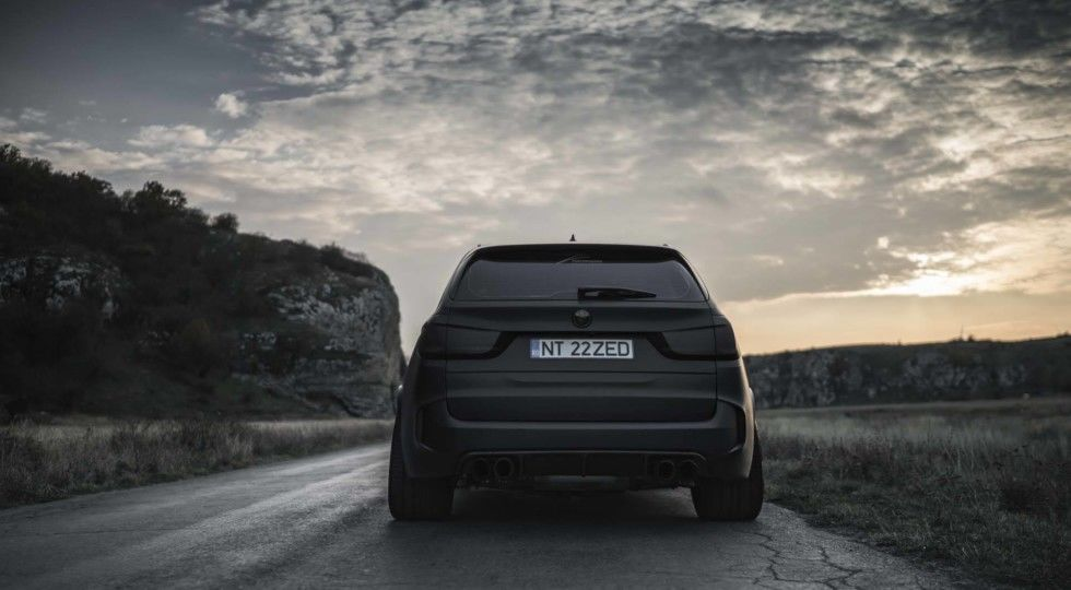 Компания Z-Performance представили матовую версию BMW X5 M - тюнинг