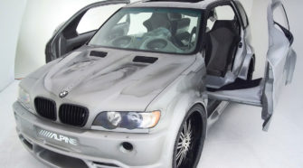 Крутой тюнинг БМВ Х5 купе - BMW x5 e53 alpine tuning видео