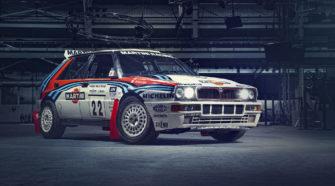 Martini Racing Lancia - В ней 340 полноценных лошадиных сил