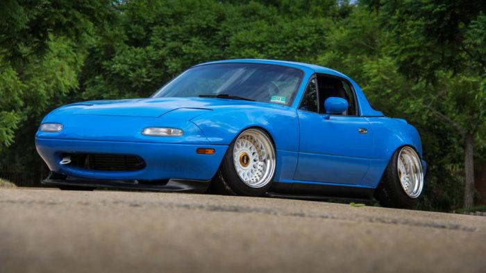 Mazda Miata 1990 года - стенс проект