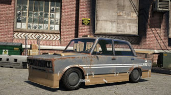 В GTA V скоро появится ВАЗ 2106