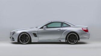 Mercedes-Benz SL 500 получил заряд бодрости в Lorinser